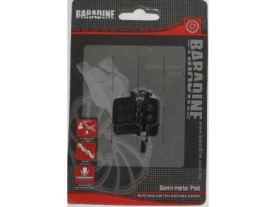 Колодки под дисковый тормоз Baradine DS-11+SP-
